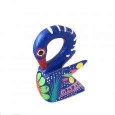 トリ (鳥) 雑貨 メキシコ ウッドカービング アレブリヘス(トリ C)