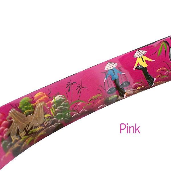 ベトナム 漆 ワインホルダー(三ヶ月型 4色)【画像3】