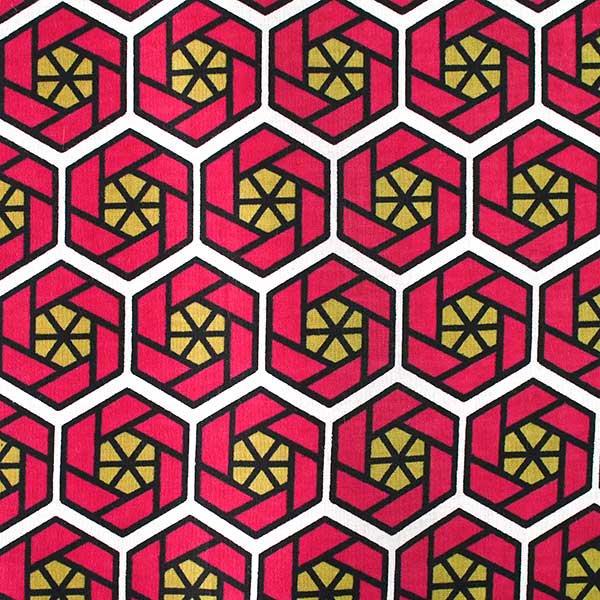 アフリカ ケニア カンガ プリント布 110x150(薔薇 ブルー 日本語訳不明)【画像3】
