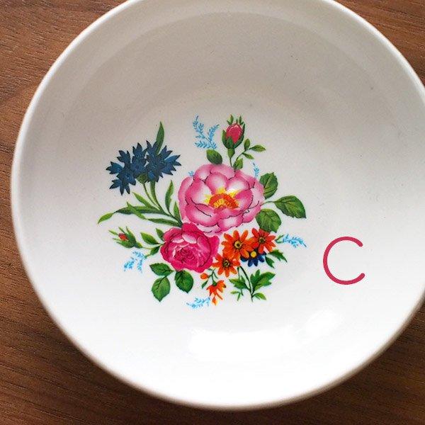 ベトナム 花柄 プラスチック 小皿(直径 約8cm 高さ 2.5cm)【画像4】
