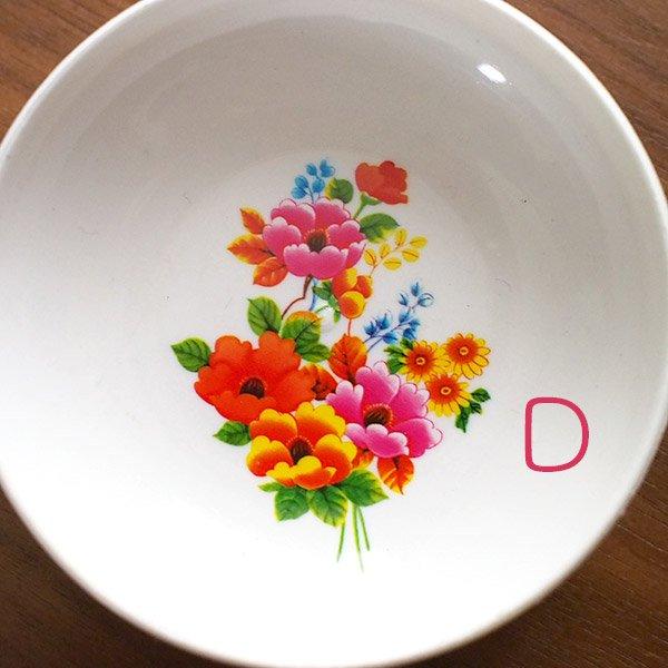 ベトナム 花柄 プラスチック 小皿(直径 約8cm 高さ 2.5cm)【画像5】