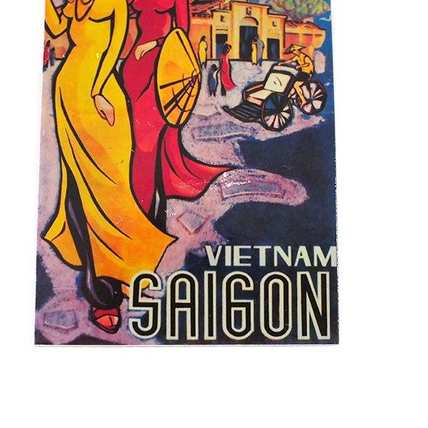 ベトナム マグネット(VIETNAM SAIGON)【画像3】