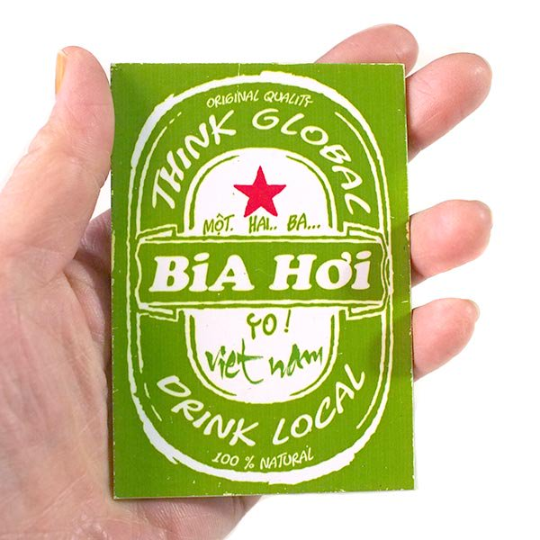 ベトナム マグネット(BiA Hoi)【画像4】