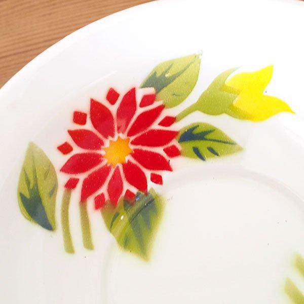 タイ ホーロー ボウル レトロ 花柄  直径 約18cm 【RABBIT BRAND】 【画像4】