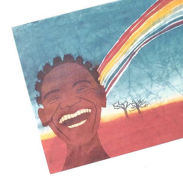 アフリカ バティック ポストカード【GIFT OF NATURE 自然の贈り物】【画像3】