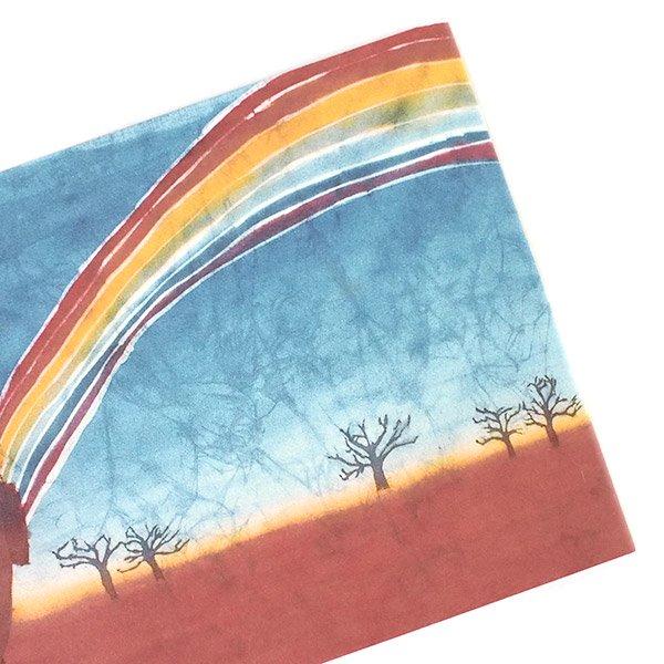 アフリカ バティック ポストカード【GIFT OF NATURE 自然の贈り物】【画像4】