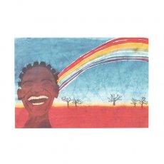アフリカン アフリカ バティック ポストカード【GIFT OF NATURE 自然の贈り物】