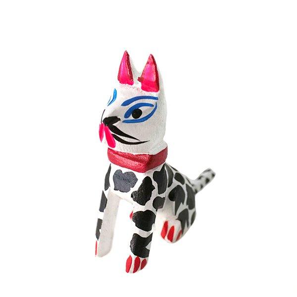 メキシコ ウッドカービング アレブリヘス(犬)