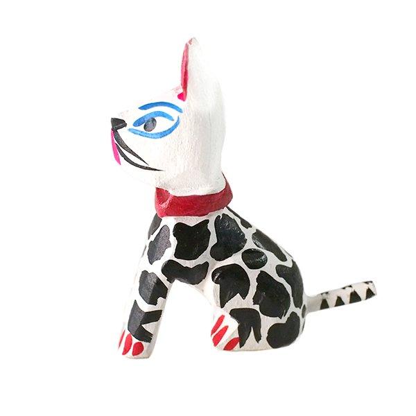 メキシコ ウッドカービング アレブリヘス(犬)【画像2】