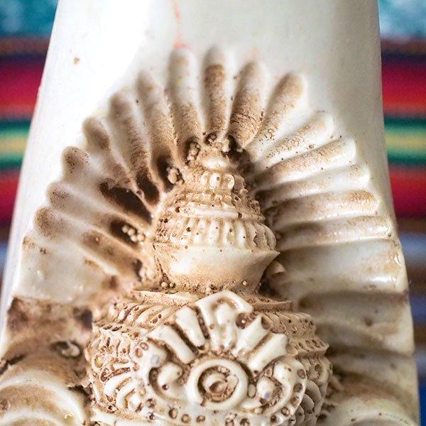 インド ガネーシャ 置物(ホワイト 21cm)【画像6】