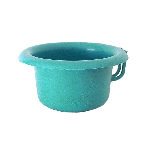 セネガル プラスチック片手 桶(ペパーミント)