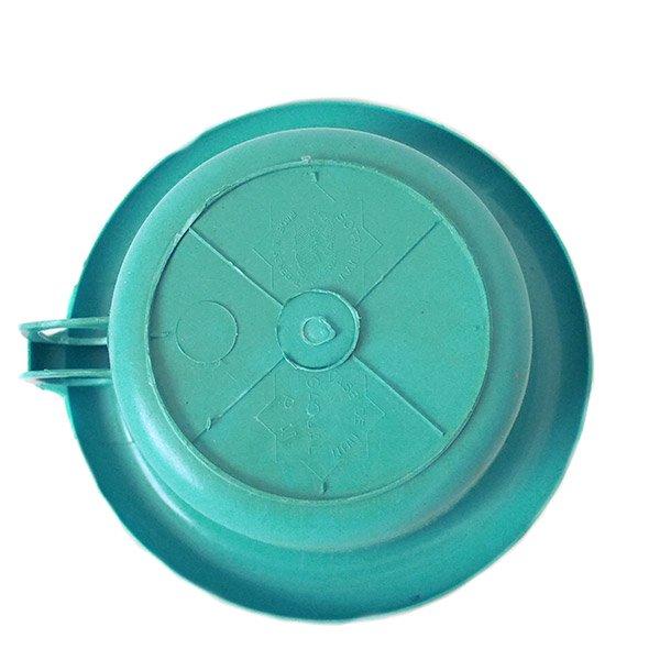 セネガル プラスチック片手 桶(ペパーミント)【画像2】