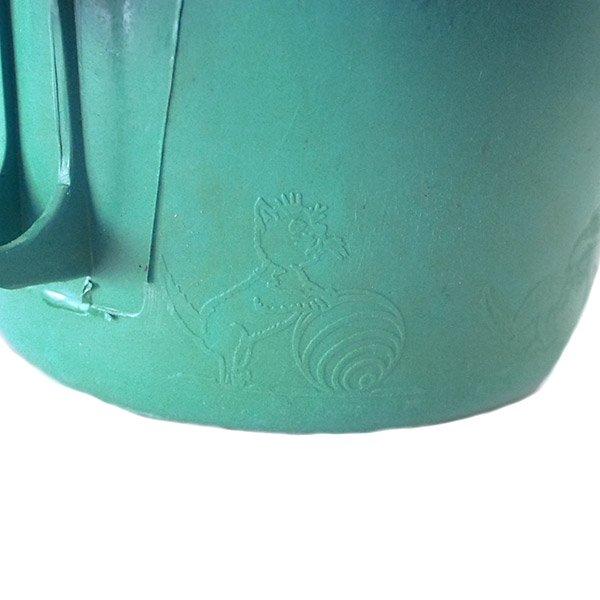セネガル プラスチック片手 桶(ペパーミント)【画像4】