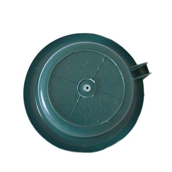 セネガル プラスチック片手 桶(ダークグリーン)【画像2】
