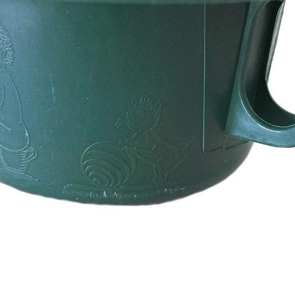 セネガル プラスチック片手 桶(ダークグリーン)【画像4】