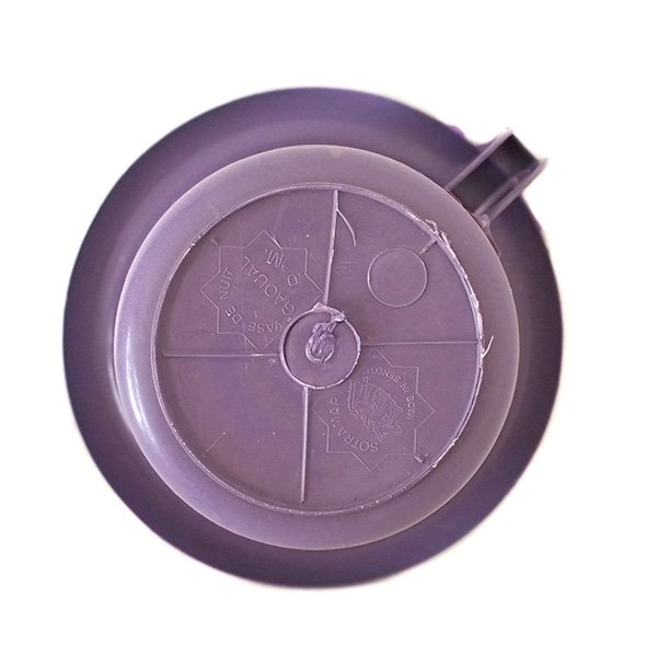セネガル プラスチック片手 桶(パープル)【画像2】