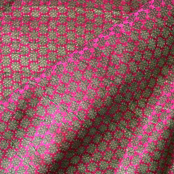 インド花模様布