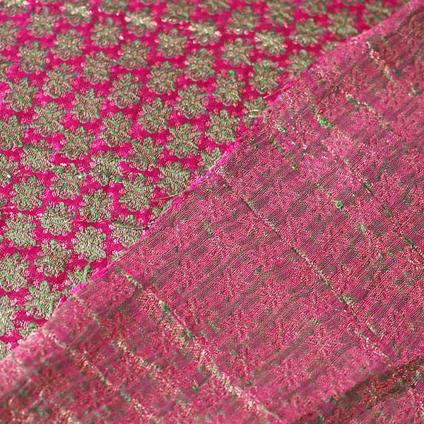 インド 花模様 布(1m 切り売り 幅約110cm)【画像4】