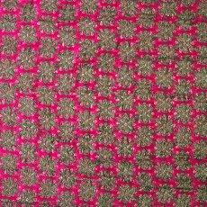 インド 花模様 布(1m 切り売り 幅約110cm)