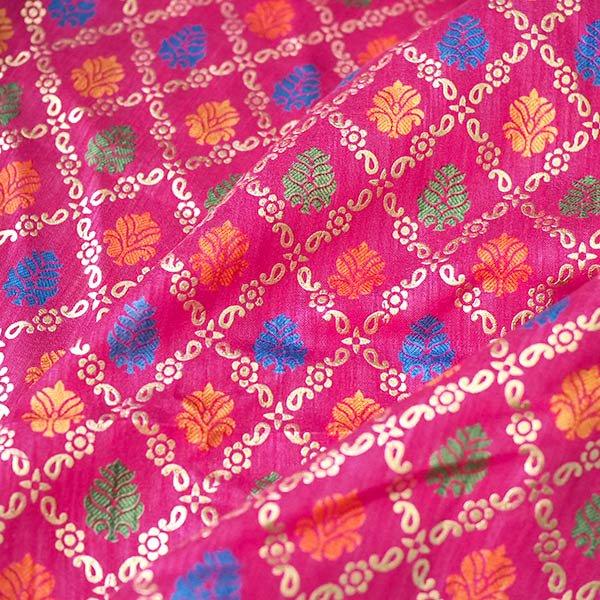 インド 模様 布(1m 切り売り 幅約110cm)【画像2】