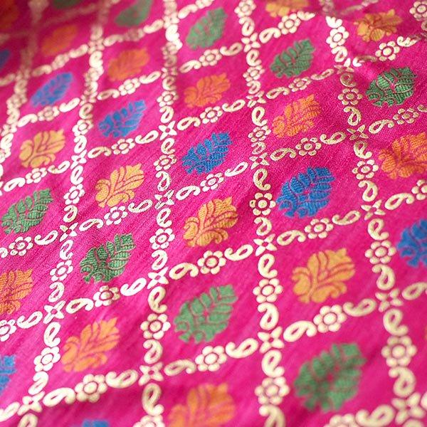 インド 模様 布(幅約110cm / 1m 切り売り)【画像3】