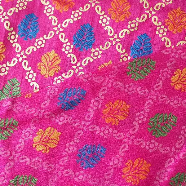 インド 模様 布(幅約110cm / 1m 切り売り)【画像4】