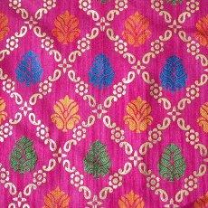 インド  インド 模様 布(幅約110cm / 1m 切り売り)
