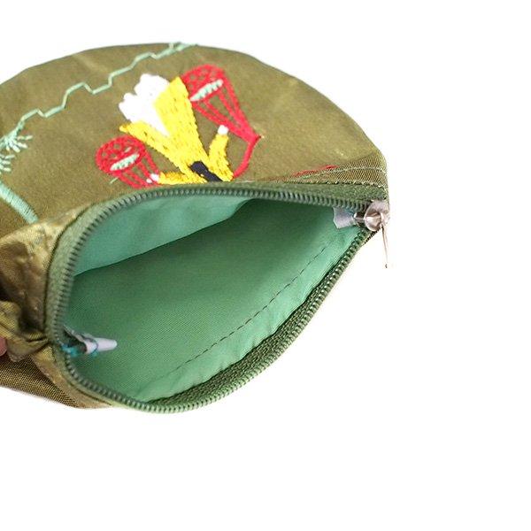 ベトナム  アオザイ 刺繍 ポーチ(天秤棒 4色)【画像5】