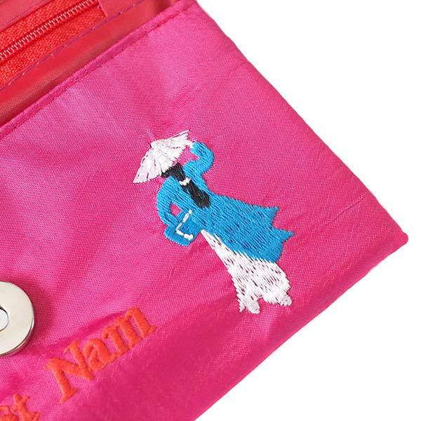 ベトナム アオザイ 刺繍ポーチ 財布(A)【画像4】