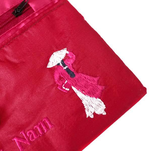 ベトナム アオザイ 刺繍ポーチ 財布(B)【画像4】
