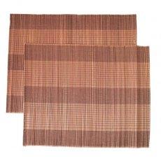 ベトナム 竹 ランチョンマット(ブラウン)30cm×40cm