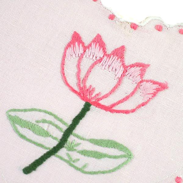 ベトナム 蓮の花(ロータス)刺繍のサシェ (2色)【画像5】