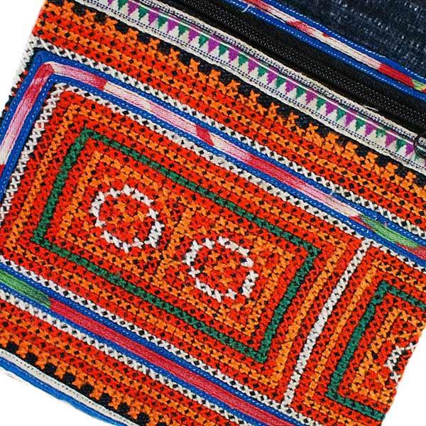 ベトナム 少数民族 モン族 刺繍 ポシェット(I)【画像2】