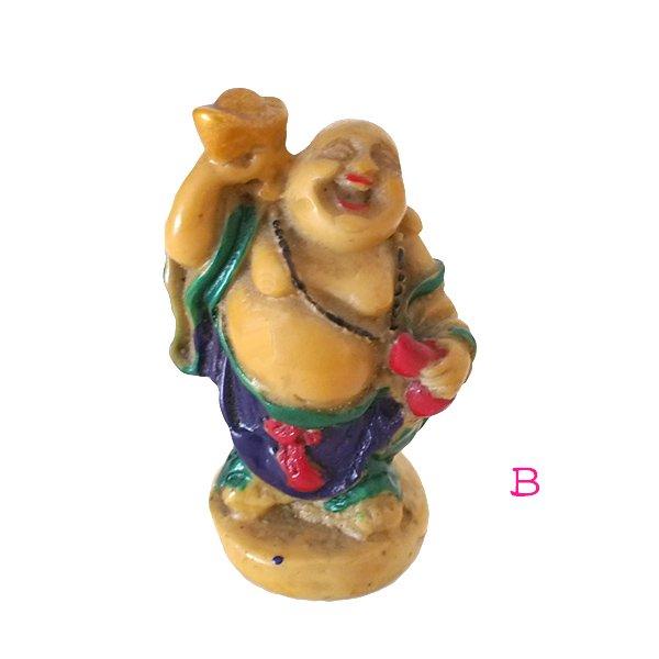 ベトナム 布袋尊さん 置物 (B)約6cm【画像3】