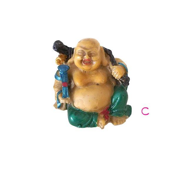ベトナム 布袋尊さん 置物 (B)約6cm【画像4】