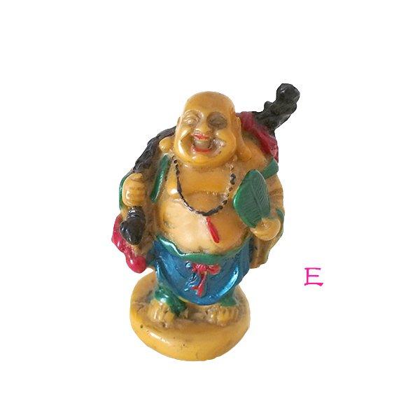 ベトナム 布袋尊さん 置物 (B)約6cm【画像6】
