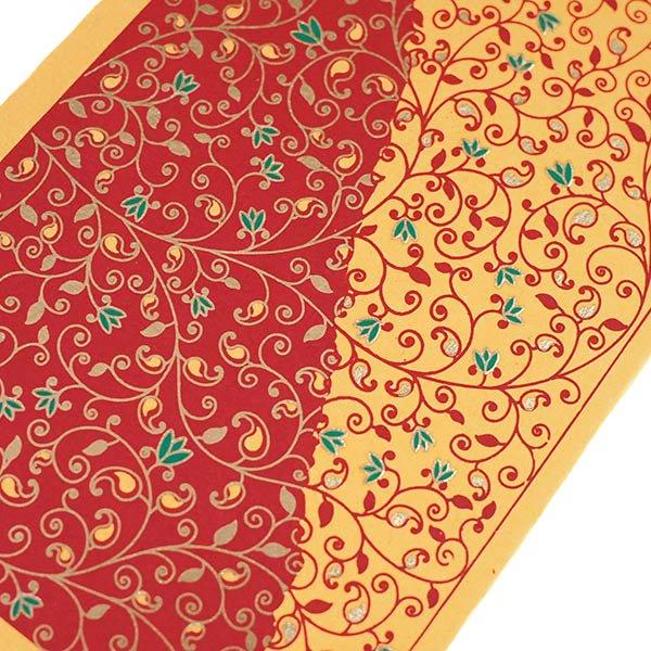 インド chimanlals(チマンラール)ツルクサ メッセージカードB(封筒付き)【画像4】
