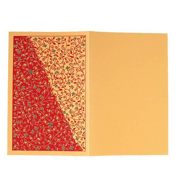 インド chimanlals(チマンラール)ツルクサ メッセージカードB(封筒付き)【画像5】