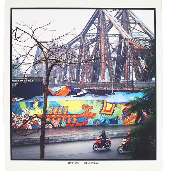 ベトナム ポストカード 【A wintry day in Hanoi ハノイの冬の1日】【画像2】
