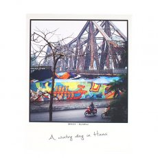 ベトナム ポストカード 【A wintry day in Hanoi ハノイの冬の1日】
