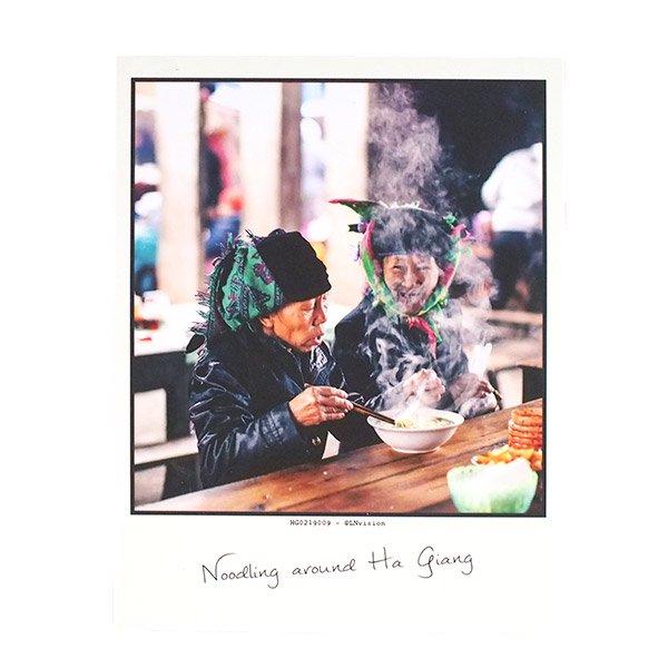 ベトナム ポストカード 【Noodling around Ha giang ハジャンを散歩】