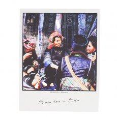 ポストカード / メッセージカード ベトナム ポストカード 【Siesta time in Sapa サパでのお昼休憩】