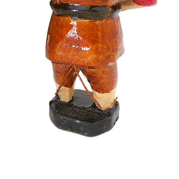 ベトナム 水上人形劇 木の人形(釣りをする人 B  小)【画像4】