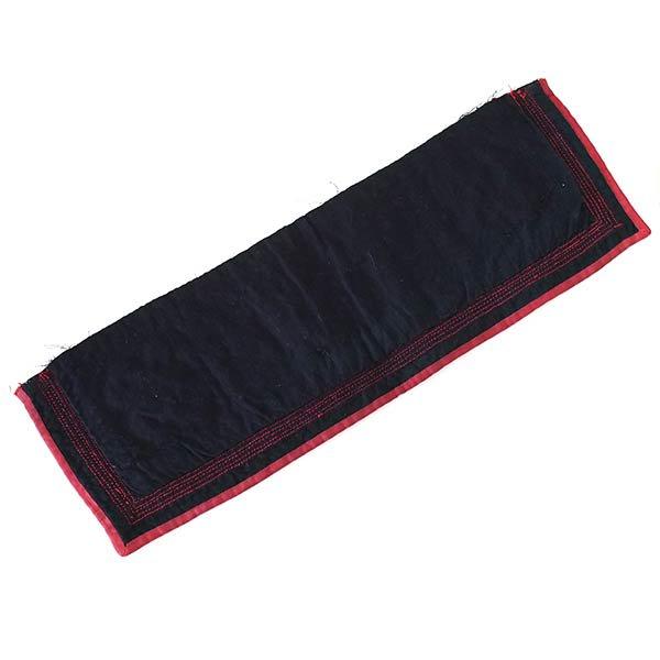 ベトナム 山岳民族 黒モン族 刺繍 古布 E (1点もの リメイク素材)【画像3】