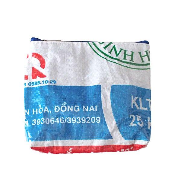 ベトナム 飼料袋 リメイク ポーチ(色々な動物大集合)【画像3】