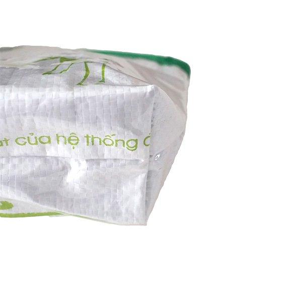 ベトナム 飼料袋 リメイク ポーチ(マチ付き ブタ)【画像3】