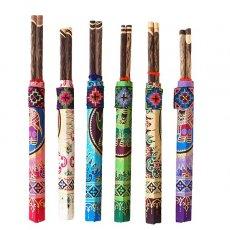ヤオ族 刺繍布付き 箸入れセット(6色)