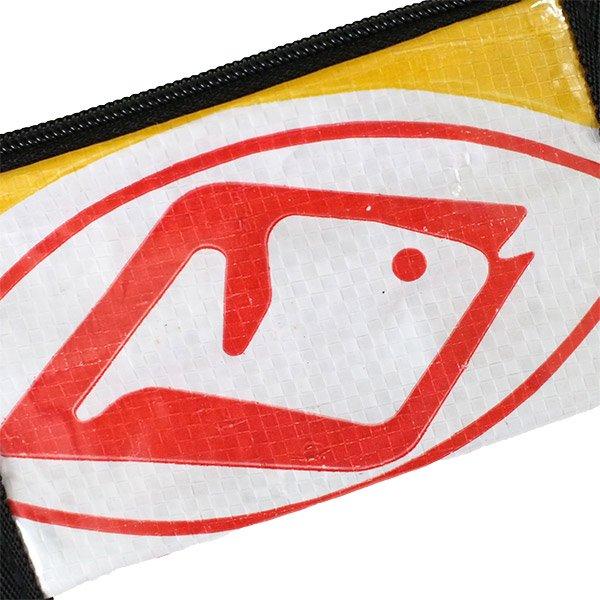 ベトナム 飼料袋 リメイク キーケース(魚)【画像3】