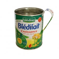 マダガスカル  リサイクル缶 コップ(ベビーミルク缶 大)