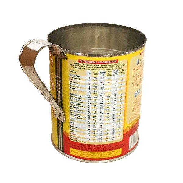 マダガスカル  リサイクル缶 コップ(粉ミルク缶 大)【画像3】